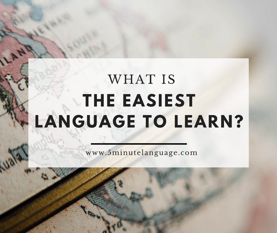The Three Easiest Languages for English Speakers to Learn