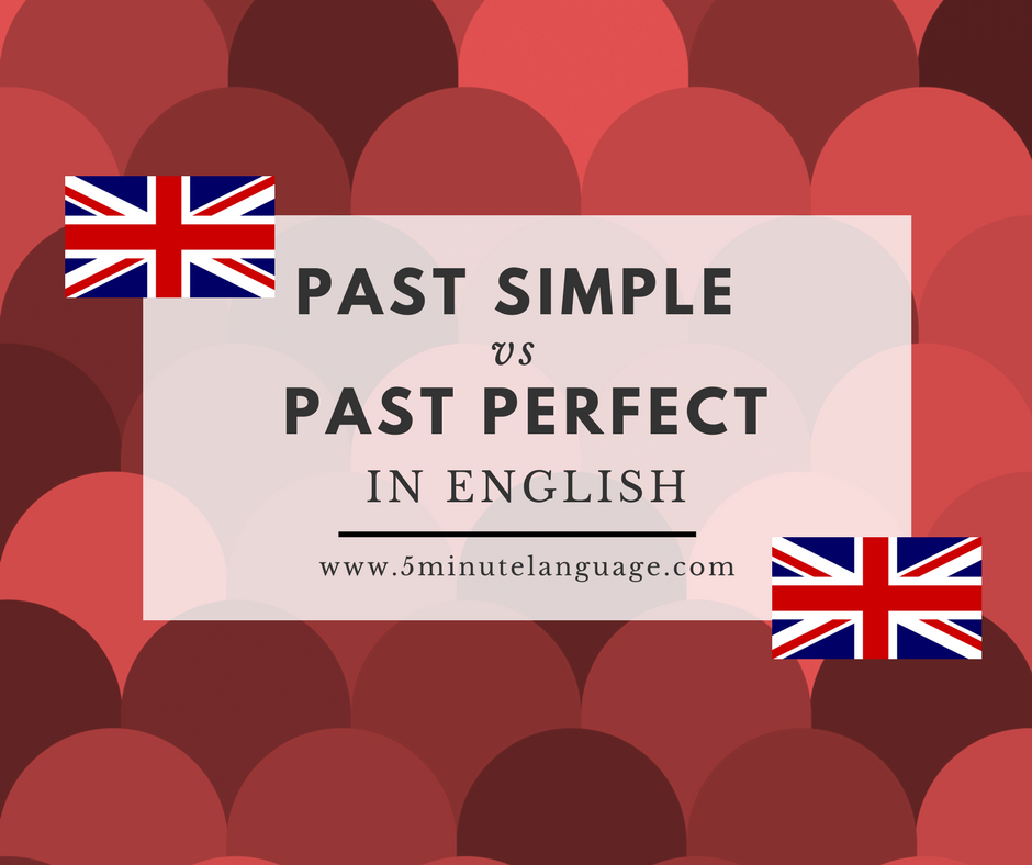 The difference between the Past Simple and the Past Perfect