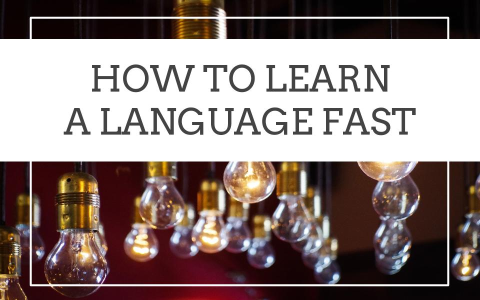 How to Learn a Language Fast   5-Minute Language